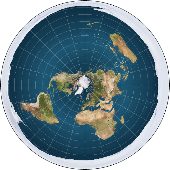 modern+flat+earth+map