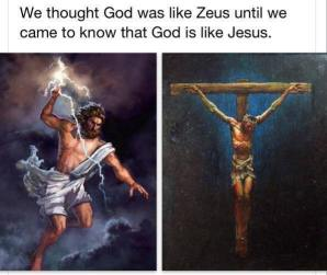 Jesus-Zeus